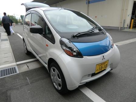 電気自動車、導入しました