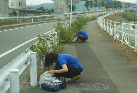 地元周辺清掃