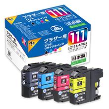 LC111-4PK 4色セット対応ジットリサイクルインク