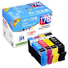 HP178 CR281AA 4色マルチパック対応 ジットリサイクルインク