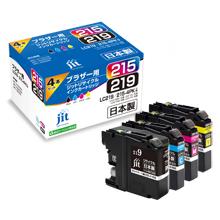 LC219/215-4PK 4色セット 大容量タイプ対応ジットリサイクルインク