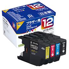LC12-4PK 4色セット対応 ジットリサイクルインク