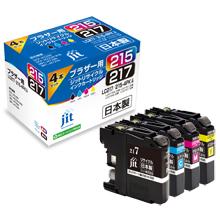 LC217/215-4PK 4色セット 大容量タイプ対応ジットリサイクルインク