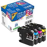 LC211-4PK 4色セット対応ジットリサイクルインク