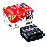 BCI-326+325 BCI-326 3色(C/M/Y)+BCI-325PGBK 4色セット対応 ジットリサイクルインク