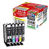 BCI-351+350/5MP 5色マルチパック対応 ジットリサイクルインク