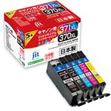 BCI-371XL+370XL/5MP 大容量5色マルチパック対応 ジットリサイクルインクカートリッジ